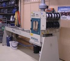Volautomatische belagreparatiemachine